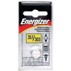 Energizer 1.5V 357 Silver Oxide Watch Battery - 1 PC Blister Pack
