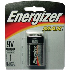 Energizer Max 9V 522 Alkaline Battery - 1pc Blister Pack
