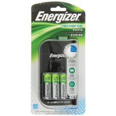 Energizer AA and AAA 4 Bay 15 MinuteNiMH Battery Charger