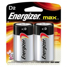 Energizer Max E95 D Alkaline Battery - 2 Count Blister Pack