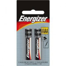 Energizer E96 AAAA Alkaline Photo Battery - 2 Count Blister Pack