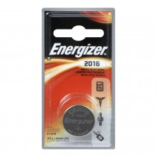 Energizer 3V ECR2016 Lithium Coin Battery - 1pc Blister Pack