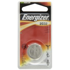 Energizer 3V ECR2032 Lithium Coin Battery - 1pc Blister Pack