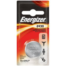 Energizer 3V ECR2430 Lithium Coin Battery - 1pc Blister Pack