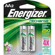 Energizer NH12 Rechargeable NiMH AAA Battery - 4 Count Blister Pack
