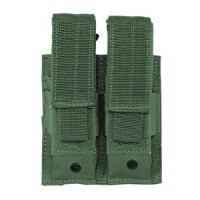 Voodoo Tactical MOLLE Double Pistol Magazine Mag Pouch