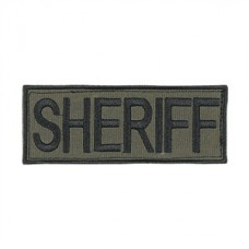 Voodoo Tactical Law Enforcement Sheriff Patch (OD Green)