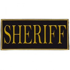 Voodoo Tactical Law Enforcement Sheriff Patch (Yellow)