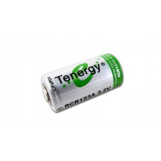 Tenergy 750mAh Li-Ion RCR123A Rechargeable Battery