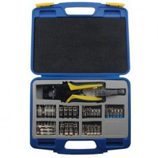 GEM-CS-TK Gem Electronics Compression Crimper / Wire Stripper Tool Kit